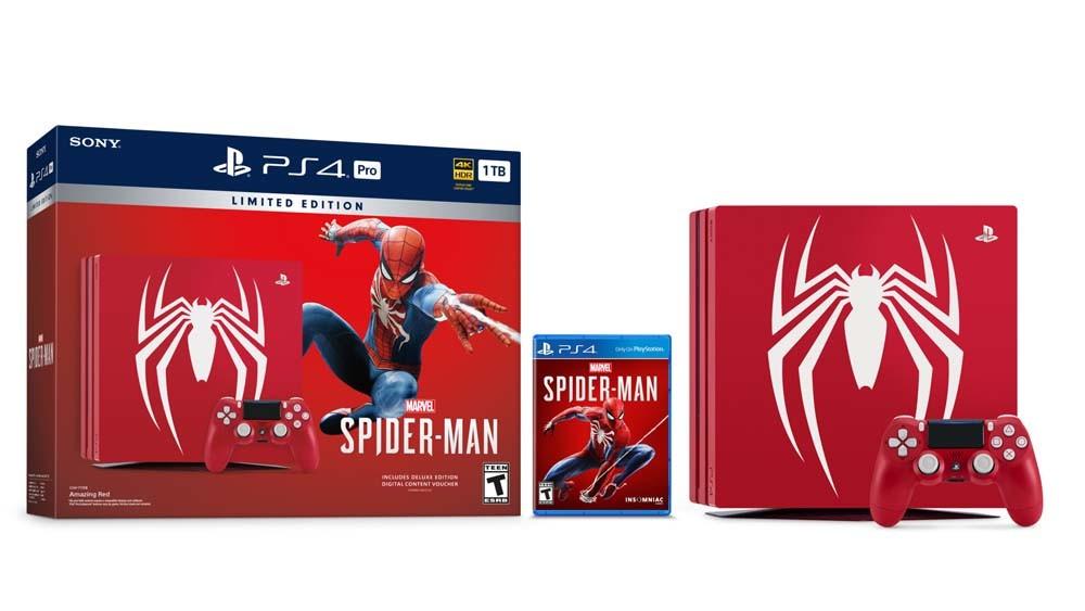 Resultado de imagen de ps4 spiderman edition