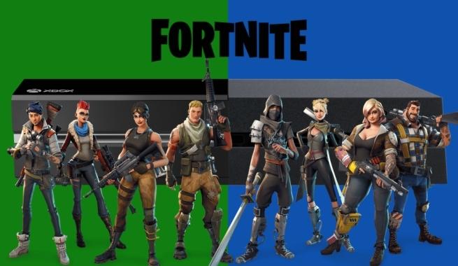 Crossplay On Fortnite Ya Hay Cross Play En Fortnite Entre Ps4 Xbox One Y Nintendo Switch Liverarte Tecnologia Cine Videojuegos Y Series
