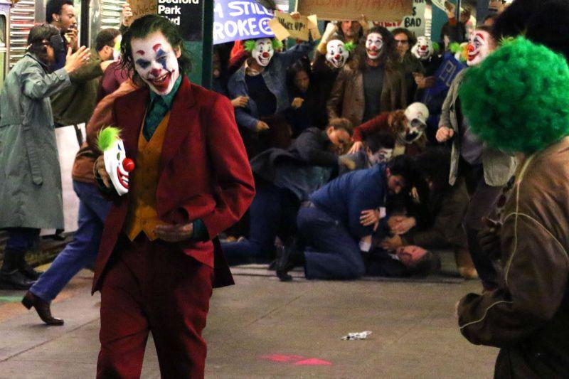 the joker metro